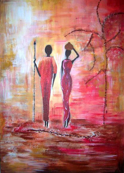 Couple Massaï