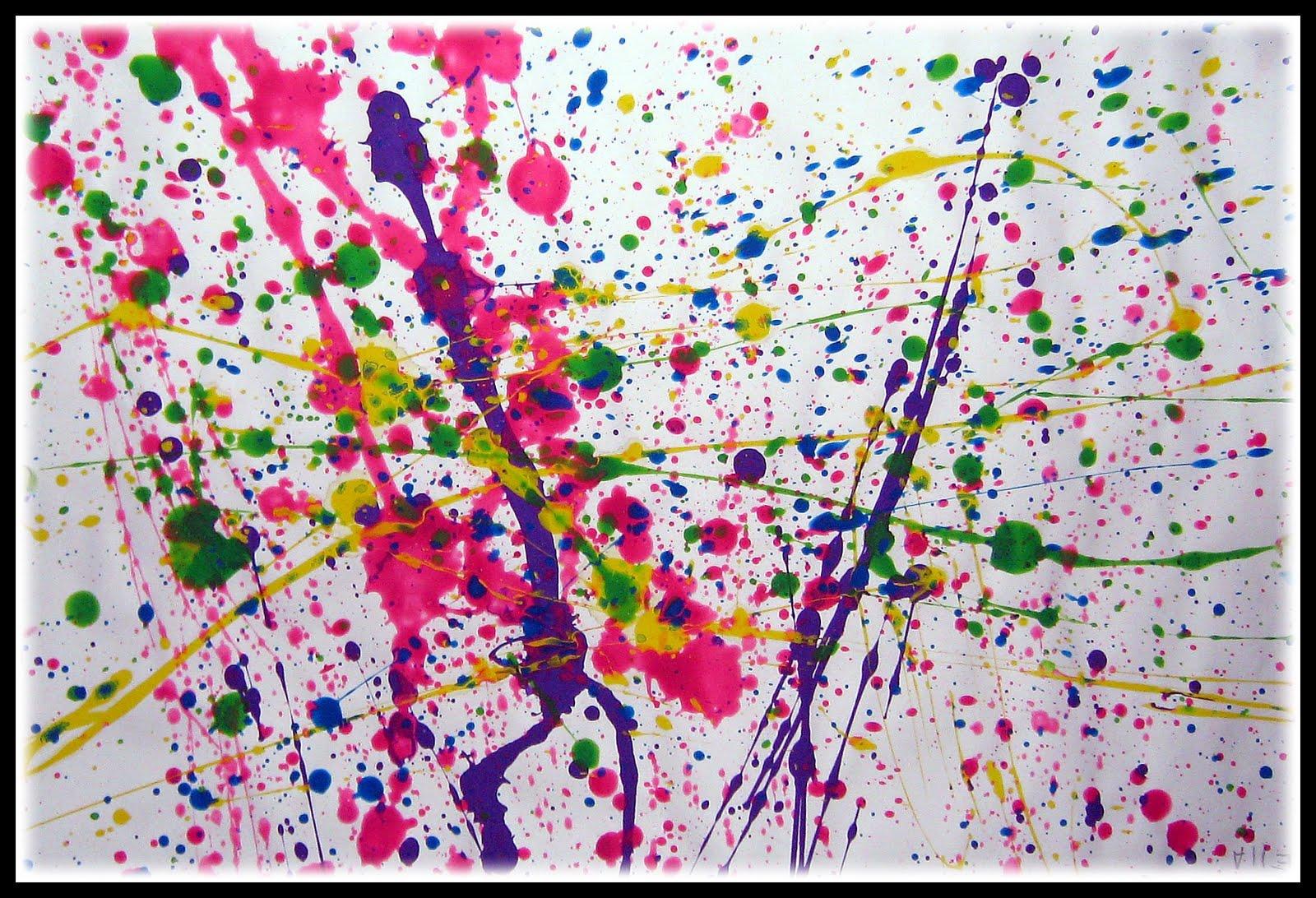 Le Dripping Une Technique De Peinture Particule D Art